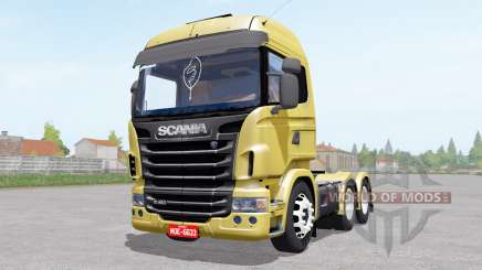 Scania R480 Highline para Farming Simulator 2017