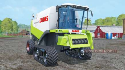 Claas Lexion 560 TerraTrac with cutters para Farming Simulator 2015