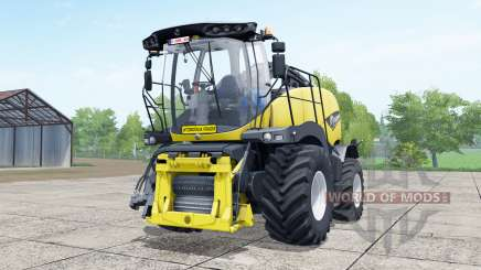 New Holland FR850 manual pipᶒ para Farming Simulator 2017