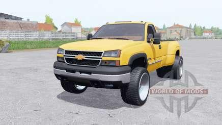 Chevrolet Silverado 3500 Regular Cab Duramaᶍ para Farming Simulator 2017