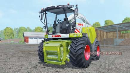 Claas Jaguar 980 with cutter para Farming Simulator 2015