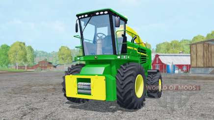 John Deere 7180 with cutter para Farming Simulator 2015