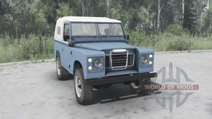 Land Rover Series III 88 Soft Top 1971 para MudRunner