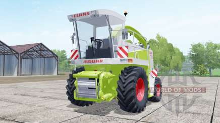 Claas Jaguar 880 with cutter Orbis 750 para Farming Simulator 2017