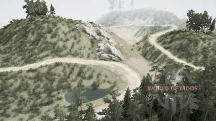 Las minas abandonadas de v1.2 para MudRunner