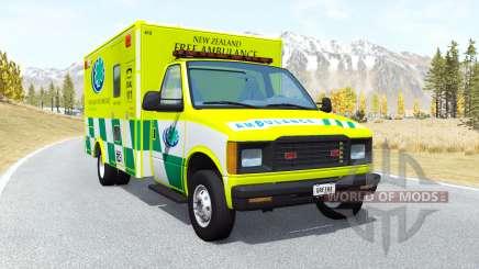 Gavril H-Series Ambulance New Zealand v0.3.2 para BeamNG Drive