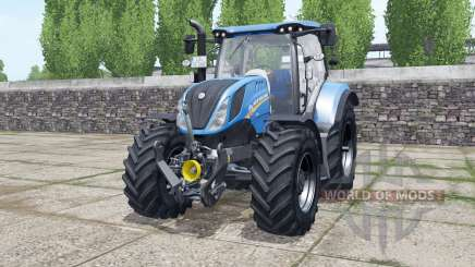 New Holland T6.140 new real sounds para Farming Simulator 2017