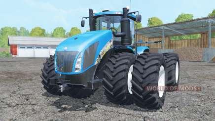 New Holland T9.700 double wheels para Farming Simulator 2015
