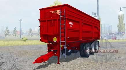 Krampe Big Body 900 S new tires para Farming Simulator 2013