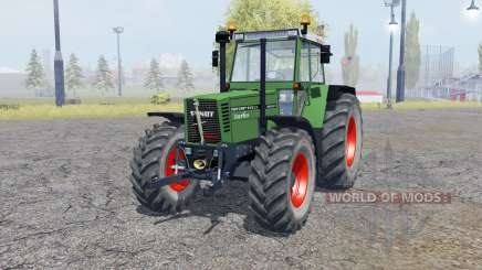 Fendt Favorit 615 LSA Turbomatik double wheels para Farming Simulator 2013