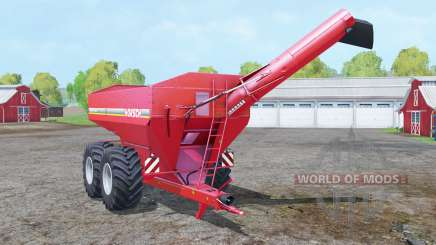 Horsch Titan 34 UW extended tube para Farming Simulator 2015