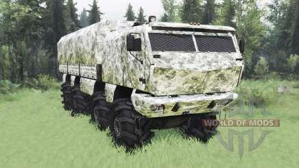 KamAZ 53958 Tornado v1.1 para Spin Tires