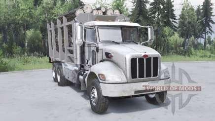 Peterbilt 330 6x4 v2.0 para Spin Tires