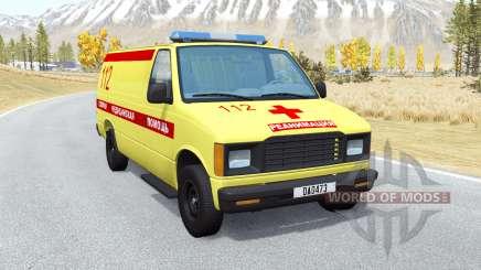 Gavril De La Serie H De La Ambulancia para BeamNG Drive