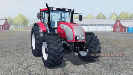 Valtra T182 bright red color para Farming Simulator 2013