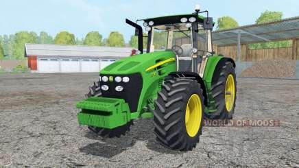 John Deere 7730 added wheels para Farming Simulator 2015