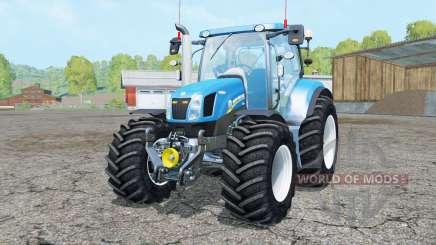 New Holland T6.160 added wheels para Farming Simulator 2015