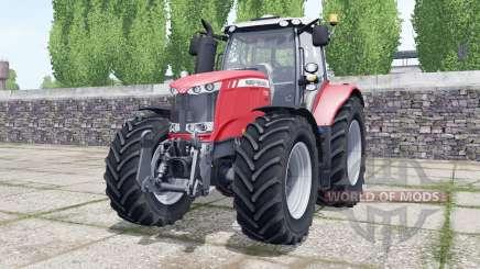 Massey Ferguson 7722 Michelin tires selectable para Farming Simulator 2017